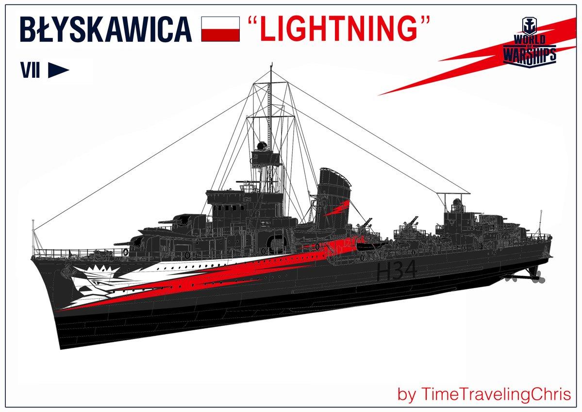 world of warships błyskawica forum